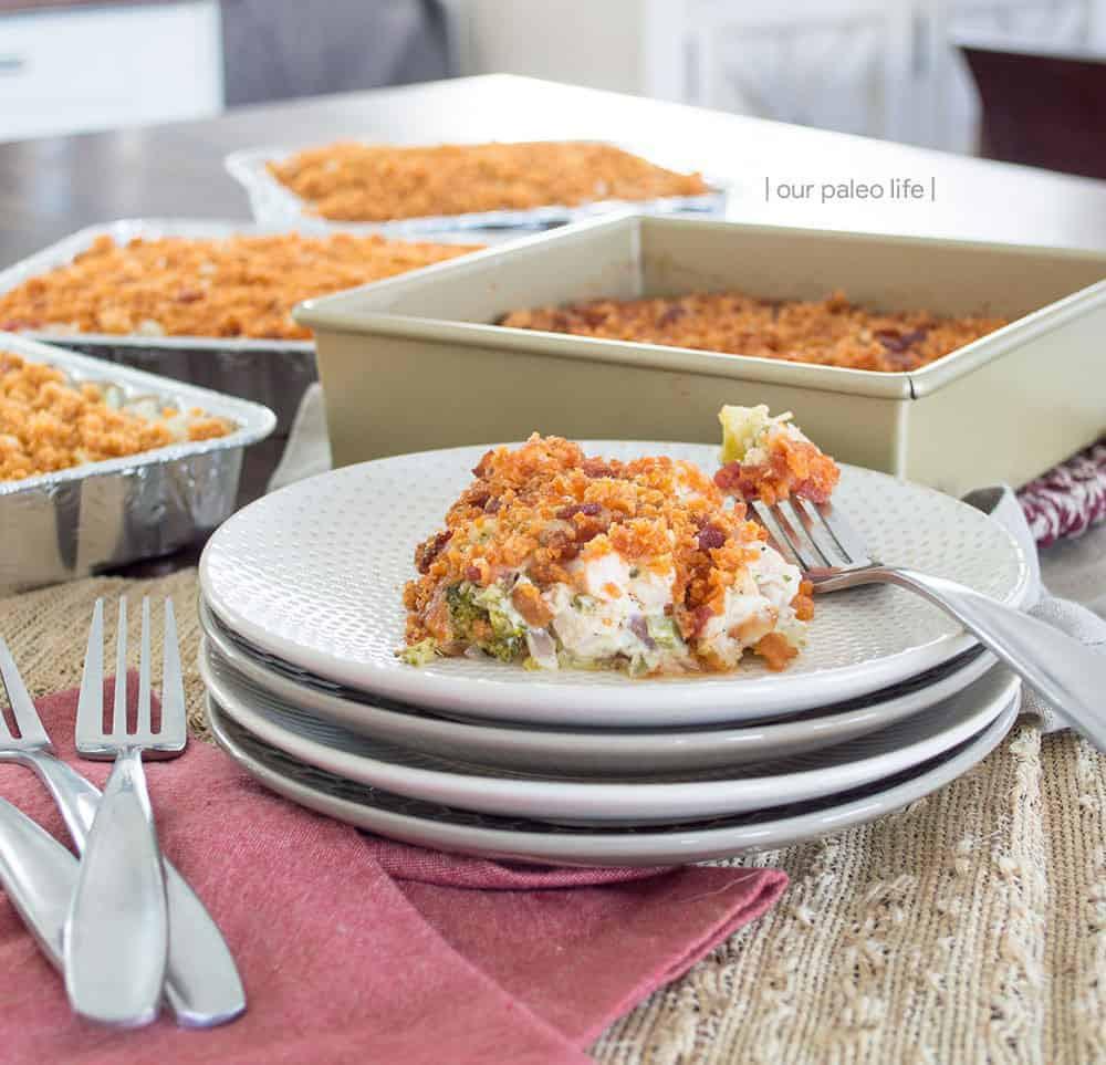 Keto Cheesy Chicken Casserole  Cheesy Chicken Broccoli Casserole A Freezer Ready Keto