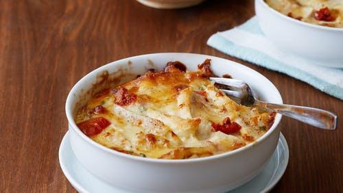 Keto Cheesy Chicken Casserole  Keto chicken casserole – hearty and cheesy – Diet Doctor