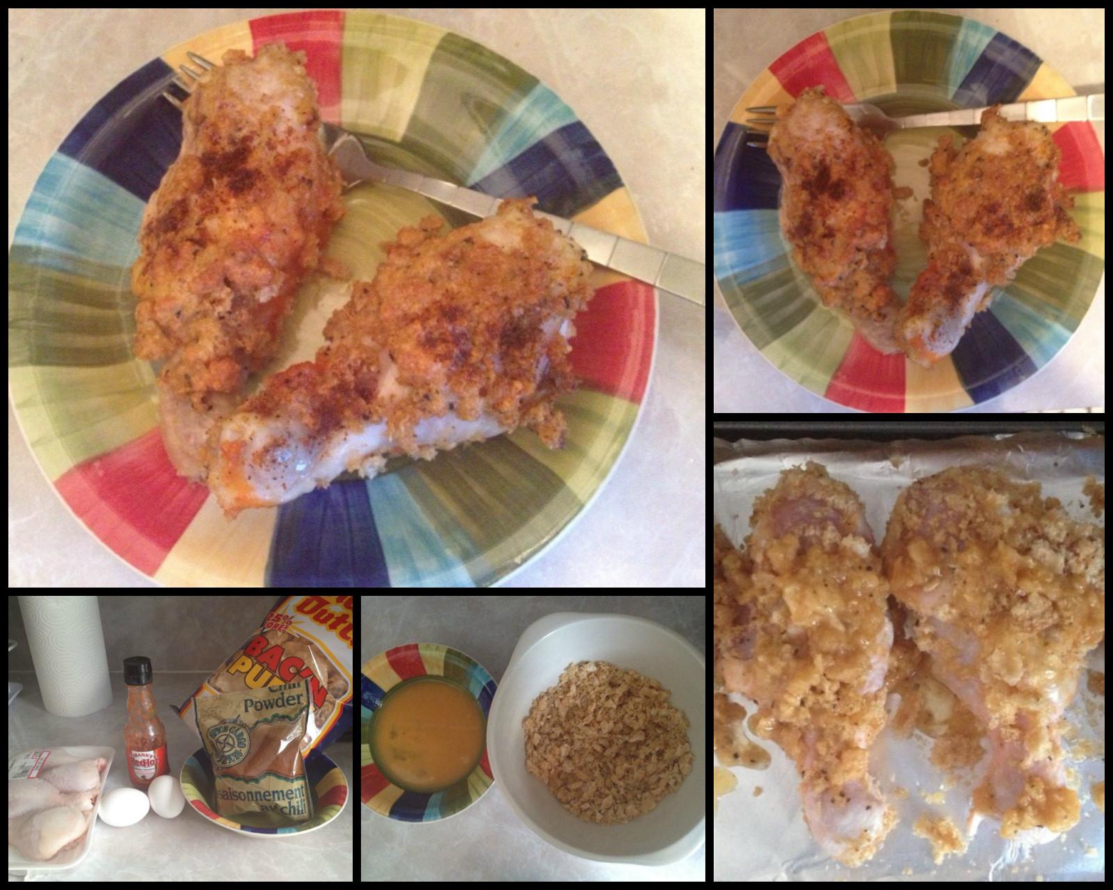 Keto Chicken Legs  Kate s Keto Cookbook Super Simple Pork Rind Crispy