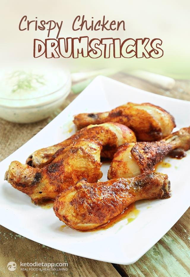 Keto Chicken Legs  Crispy Chicken Drumsticks