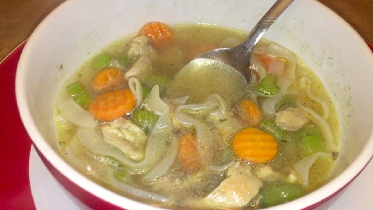 Keto Chicken Noodle Soup  Keto Chicken Noodle Soup Keto Vlog 3