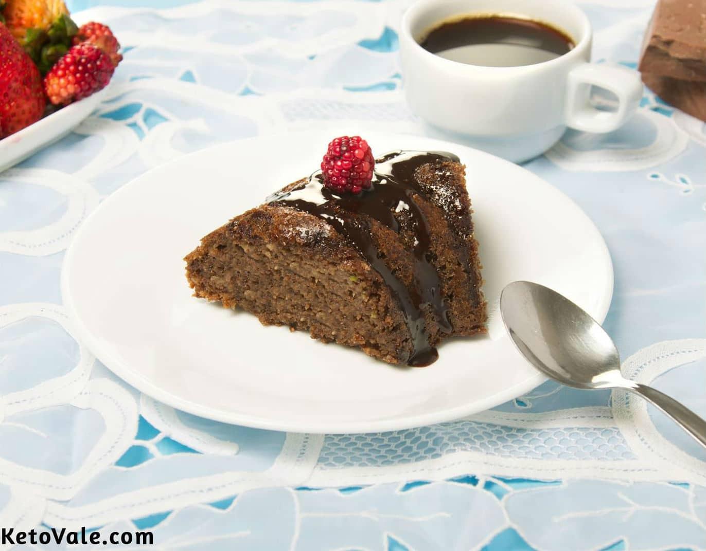 Keto Chocolate Zucchini Cake  Keto Zucchini Chocolate Cake Low Carb Sugar Free Recipe