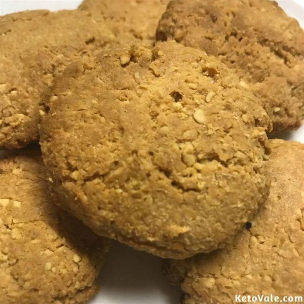 Keto Coconut Flour Peanut Butter Cookies  Peanut Butter Coconut Flour Cookies Low Carb Recipe