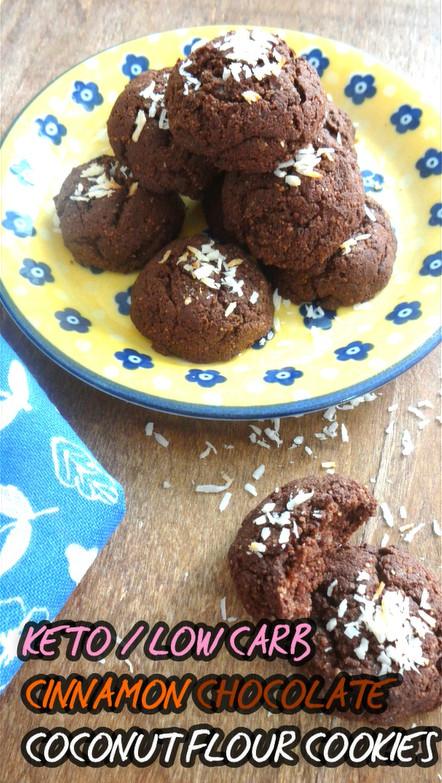 Keto Coconut Flour Peanut Butter Cookies  coconut flour cookies keto