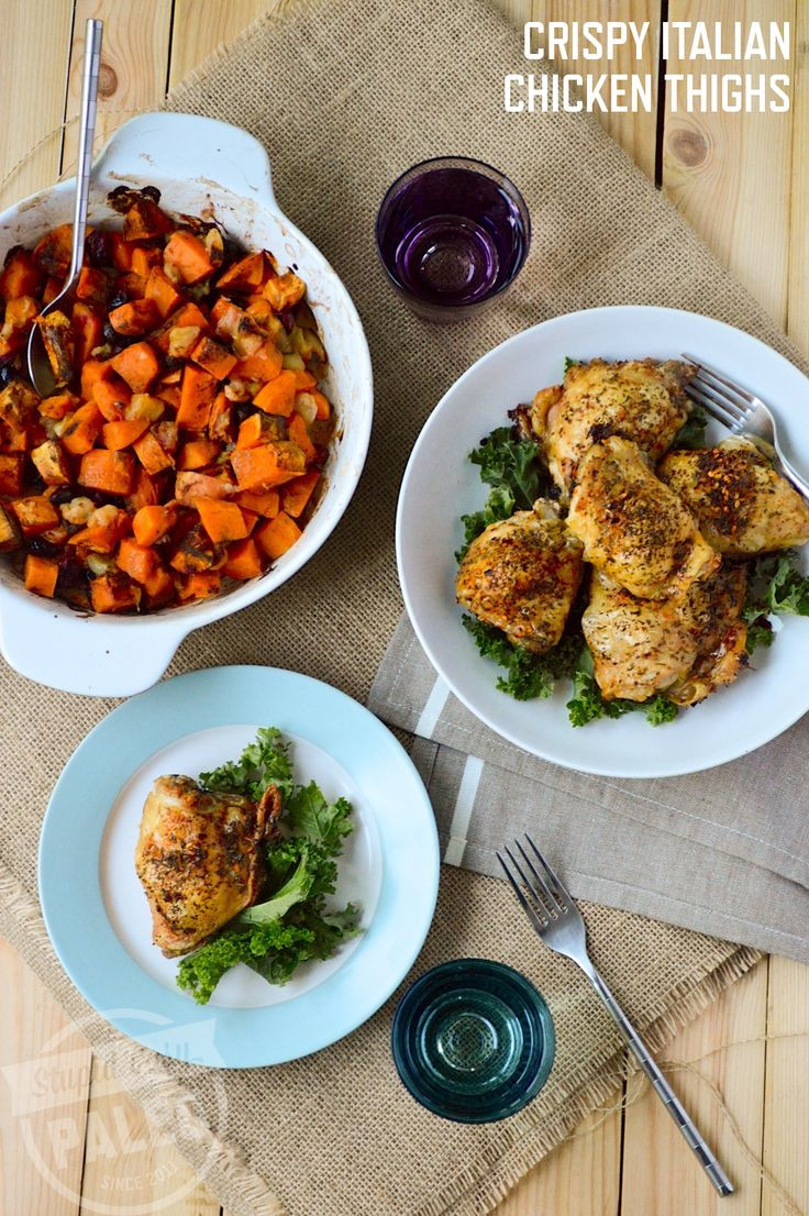 Keto Crispy Chicken Thighs  33 best images about Keto Chicken Thighs