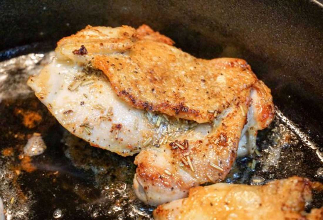 Keto Crispy Chicken Thighs  10 Low Carb Chicken Recipes That Taste Amazing