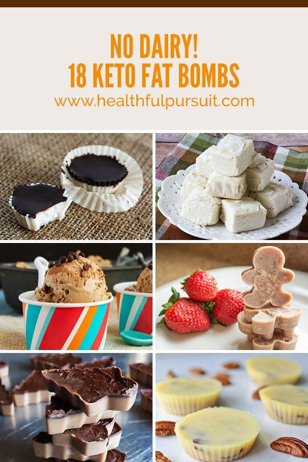 Keto Dairy Free Desserts  No Dairy 18 Keto Fat Bombs Healthful Pursuit