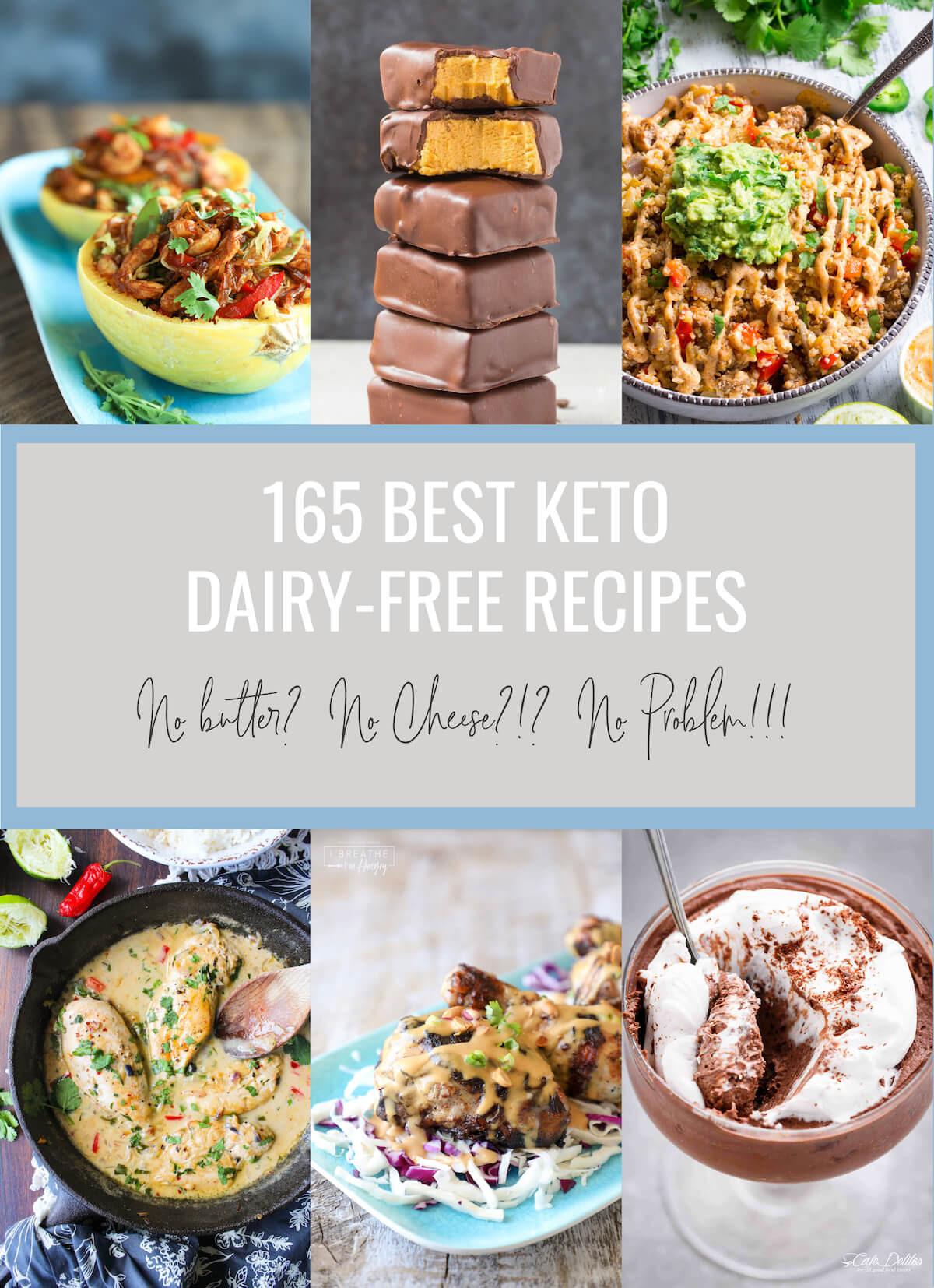 Keto Dairy Free Recipes  165 Best Keto Dairy Free Recipes Low Carb