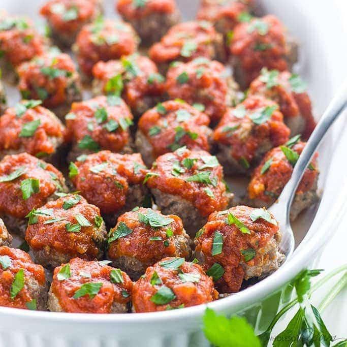 Keto Dairy Free Recipes  Low Carb Meatballs Recipe Italian Style Keto Gluten