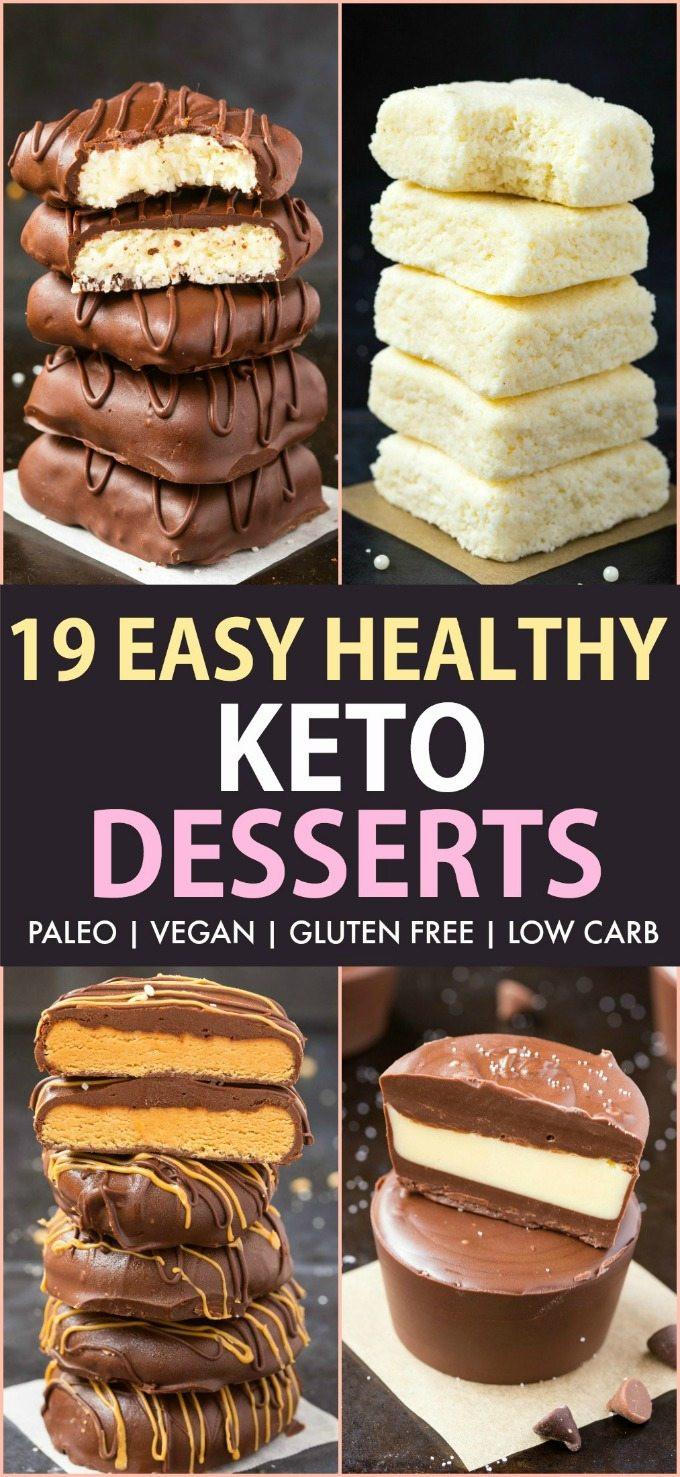 Keto Desserts Easy  19 Easy Keto Desserts Recipes which are actually healthy