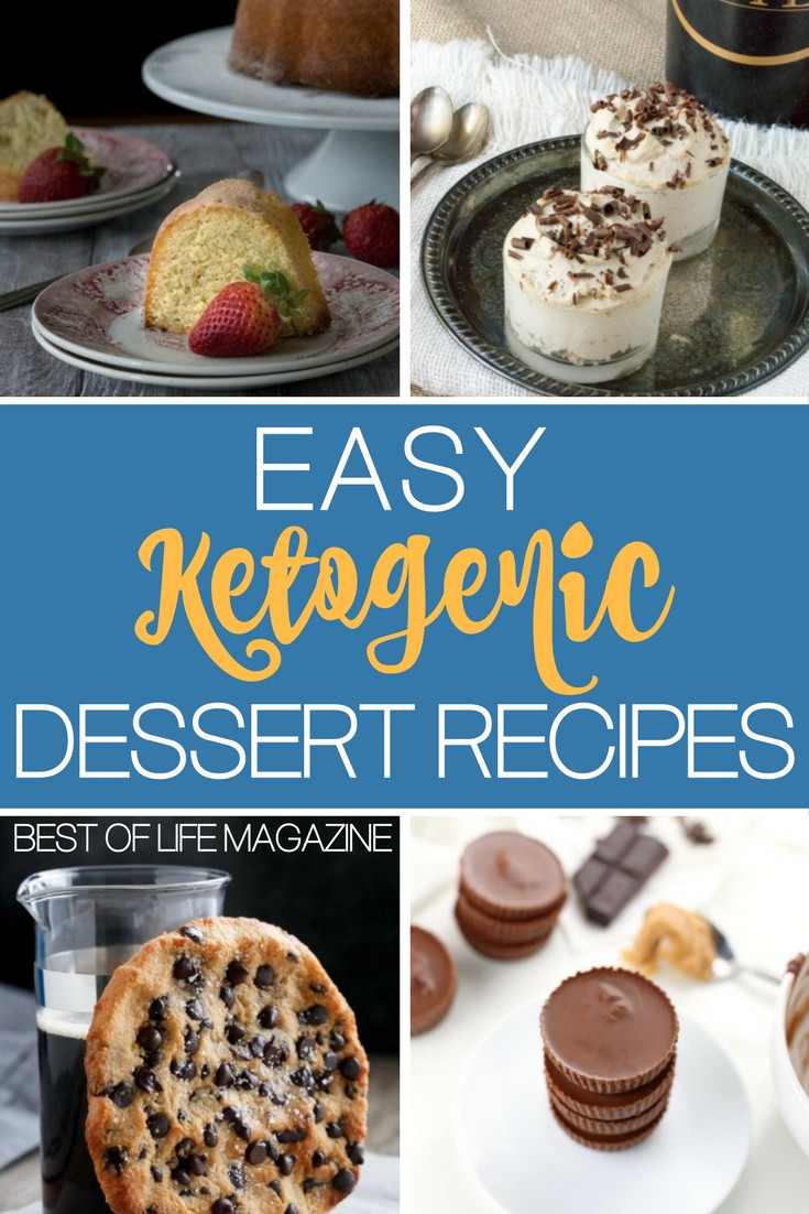 Keto Desserts Easy  Easy Keto Dessert Recipes to Diet Happily The Best of