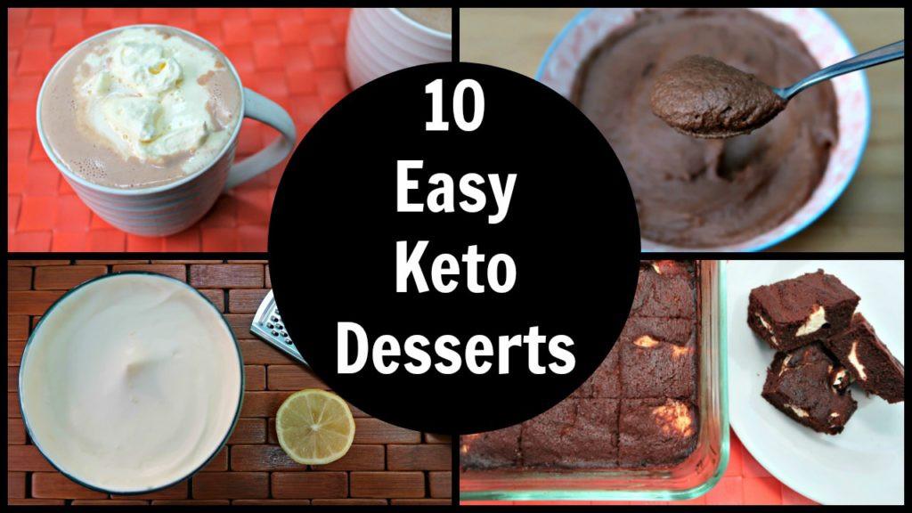 Keto Desserts Easy  Keto Dessert Chocolate Archives Yummy Inspirations