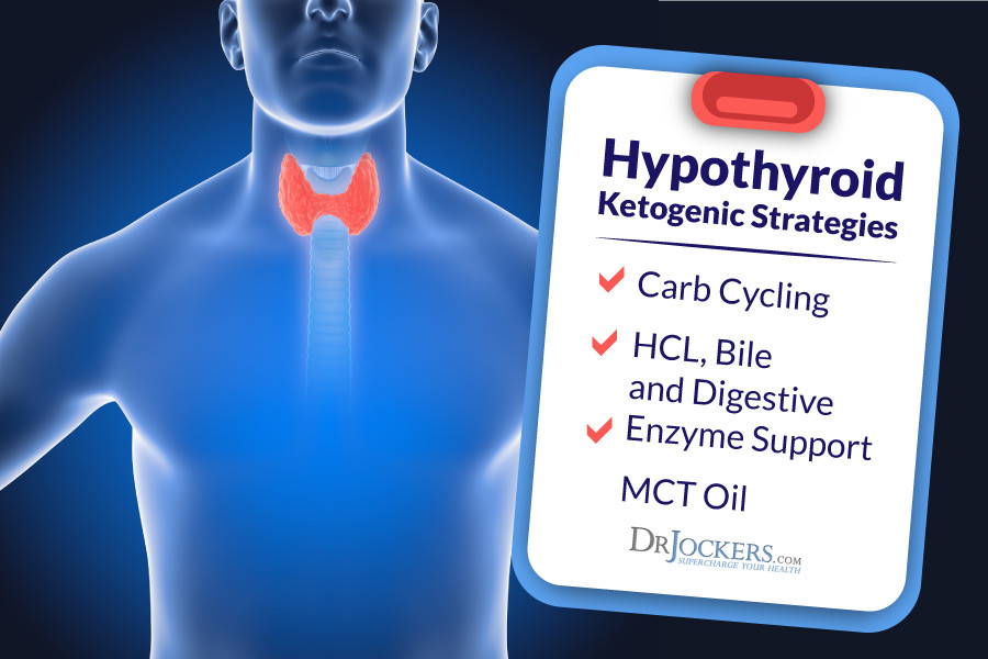 Keto Diet And Thyroid  Using A Ketogenic Diet For Hypothyroid DrJockers