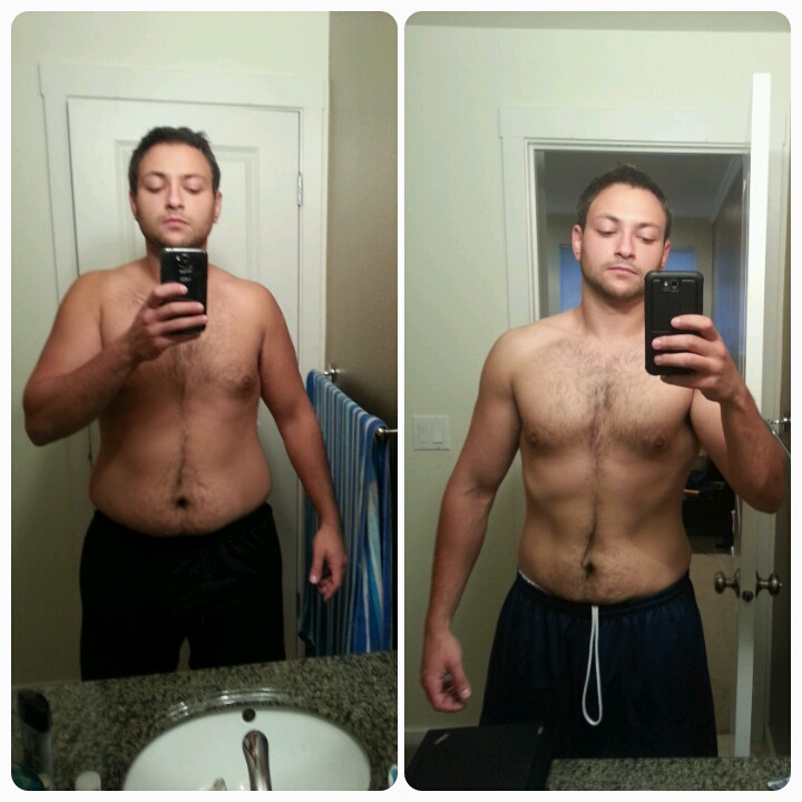 Keto Diet And Weight Lifting  [Progress pics] 6 months of keto and resistance training