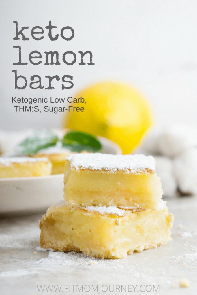 Keto Diet Bars  Keto Lemon Bars