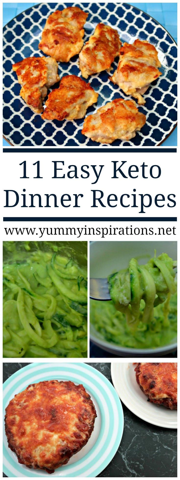 Keto Diet Dinner Recipes  11 Easy Keto Dinner Recipes Quick Low Carb Ketogenic