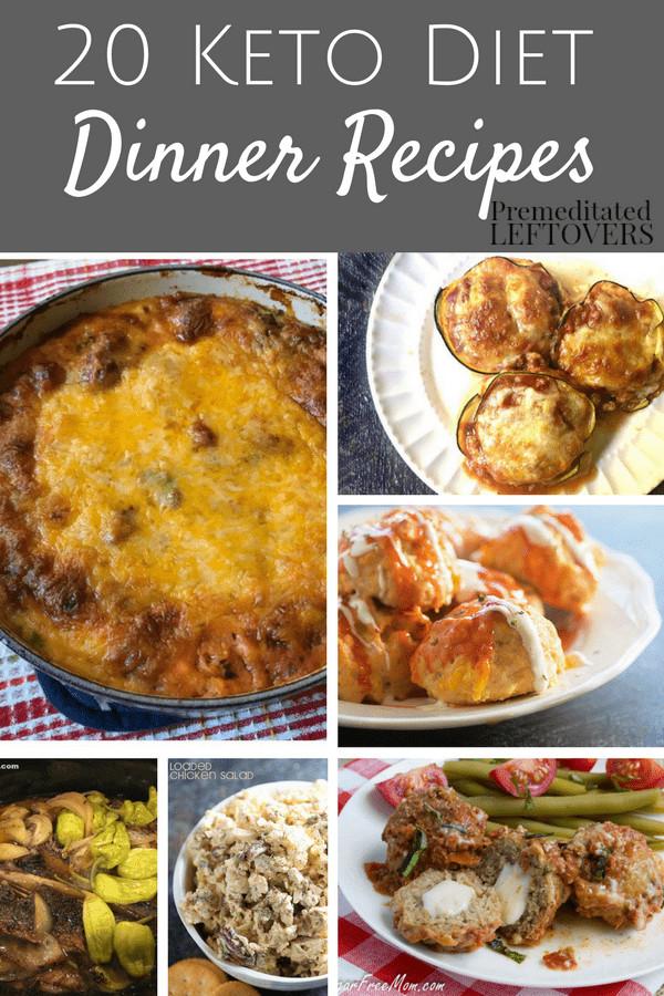 Keto Diet Dinner Recipes  20 Keto Dinner Recipes