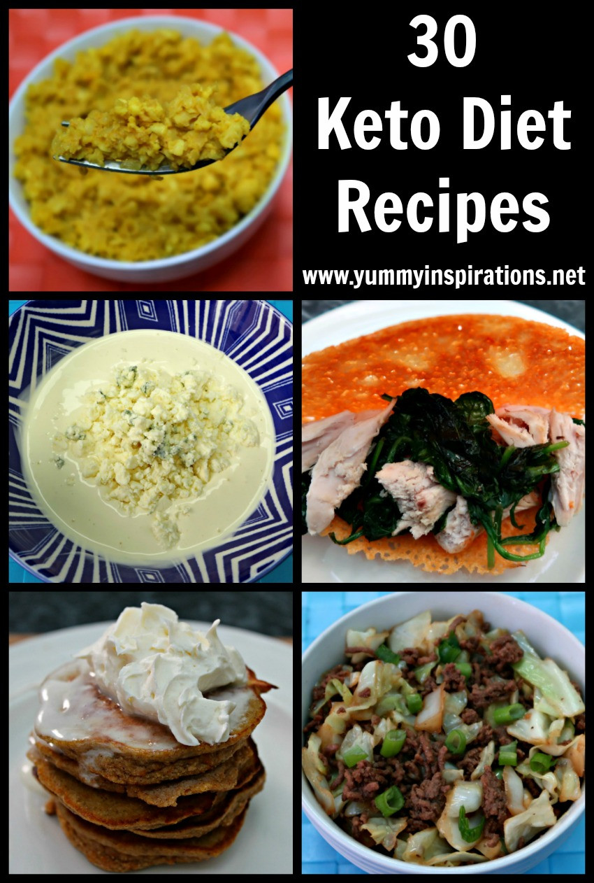 Keto Diet Dinner Recipes  30 Keto Diet Recipes Easy Low Carb & Ketogenic Diet Ideas