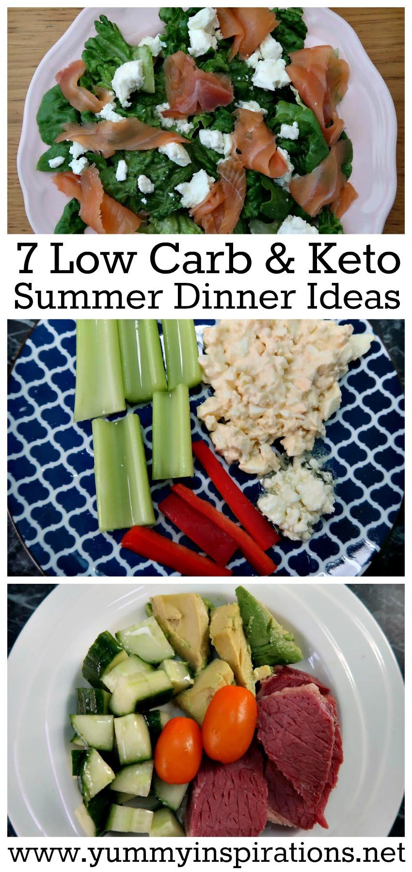 Keto Diet Dinner Recipes  7 Keto Diet Low Carb Summer Dinner Recipes & Ideas