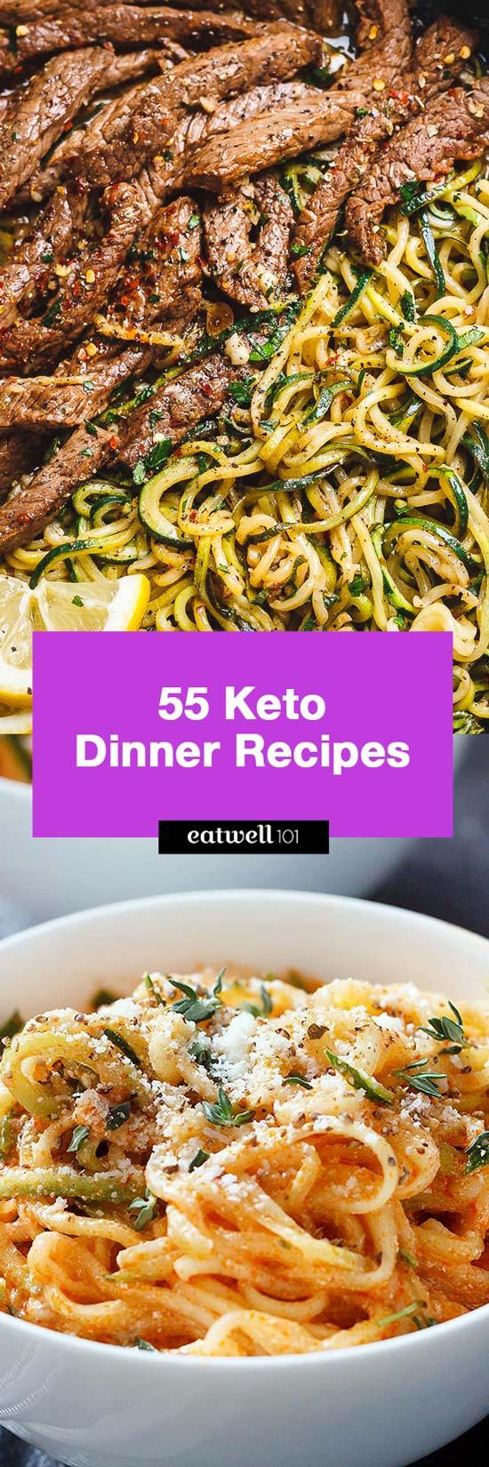 Keto Diet Dinner Recipes  Easy Keto Dinner Recipes – 65 Quick Recipe ideas for Keto