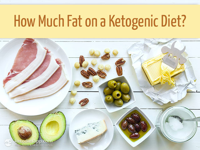 Keto Diet Fat Foods  How Much Fat on a Ketogenic Diet