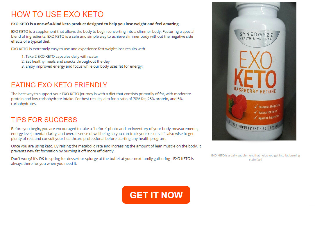 Keto Diet Joint Pain  EXO KETO Diet Review Helps Stop Fat From Being Made