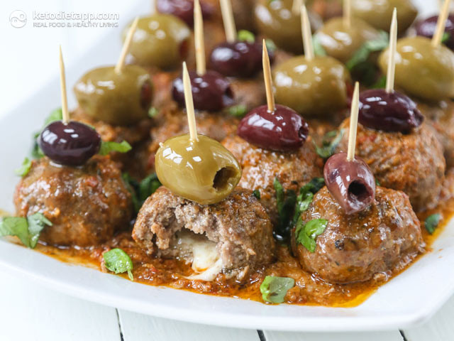 Keto Diet Olives  Keto Party Meatballs