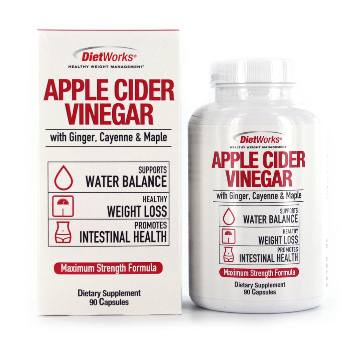 Keto Diet Pills Walmart  DietWorks Apple Cider Vinegar Dietary Supplement 90