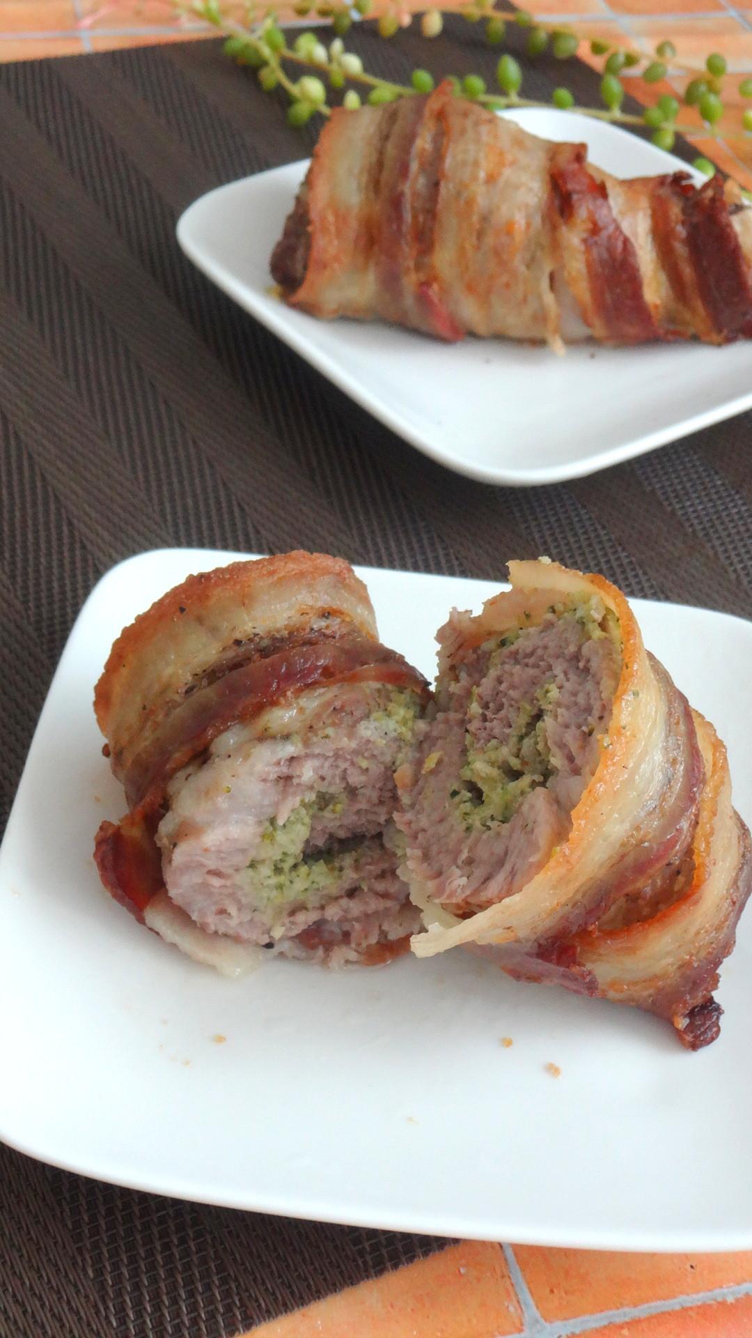 Keto Diet Pork Chops  Bacon Wrapped Broccoli Stuffed Pork Chops Keto Low Carb