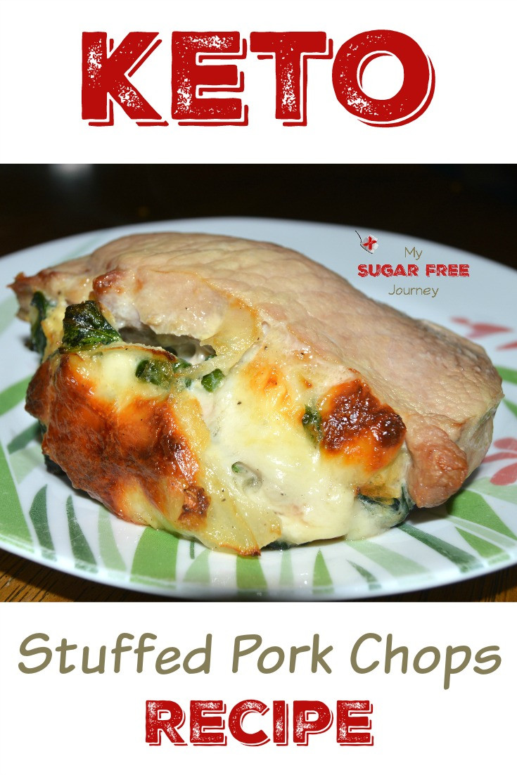 Keto Diet Pork Chops  Ketogenic Stuffed Pork Chops Recipe – My Sugar Free Journey
