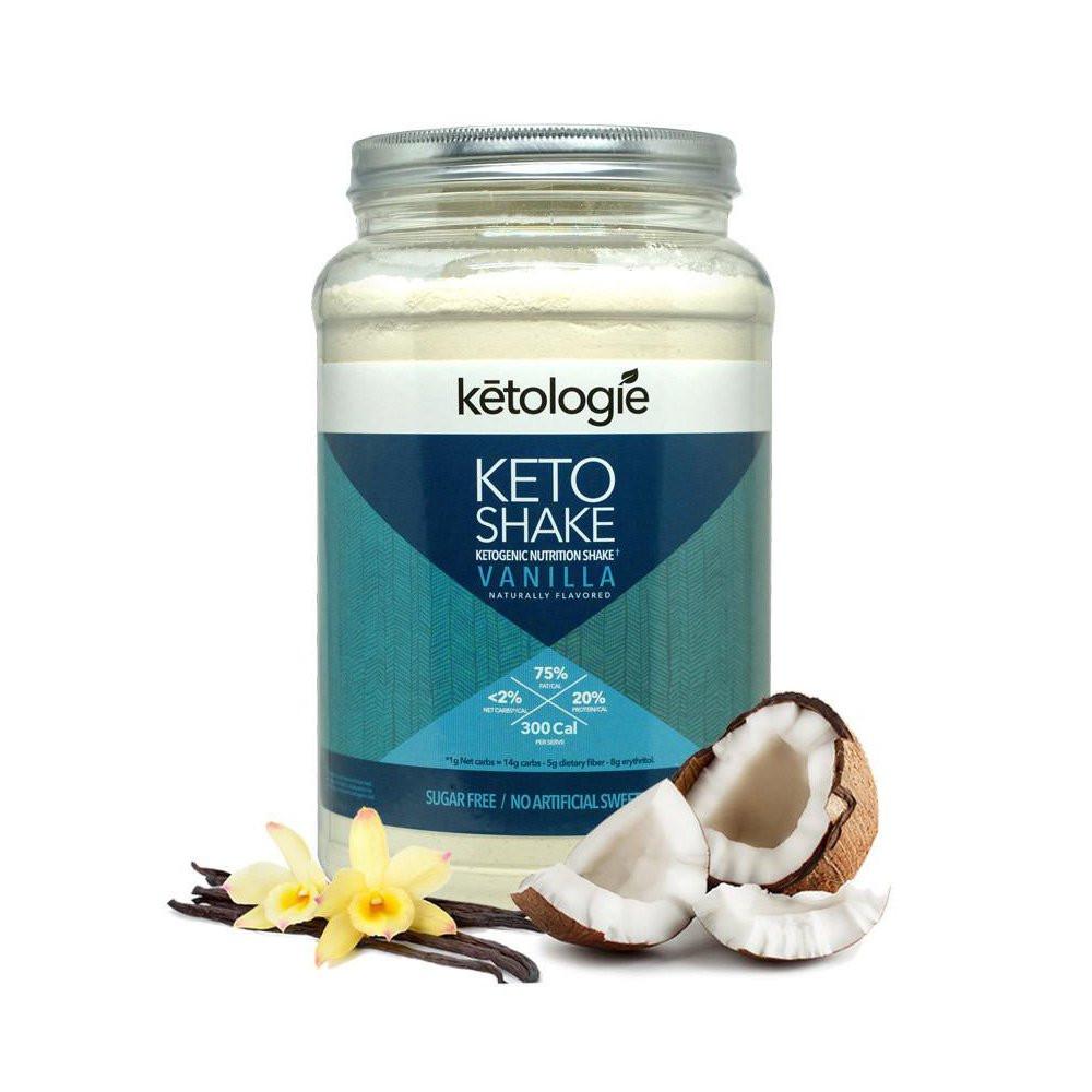 Keto Diet Protein Powder  Amazon Ketologie Chocolate Keto Protein Shake
