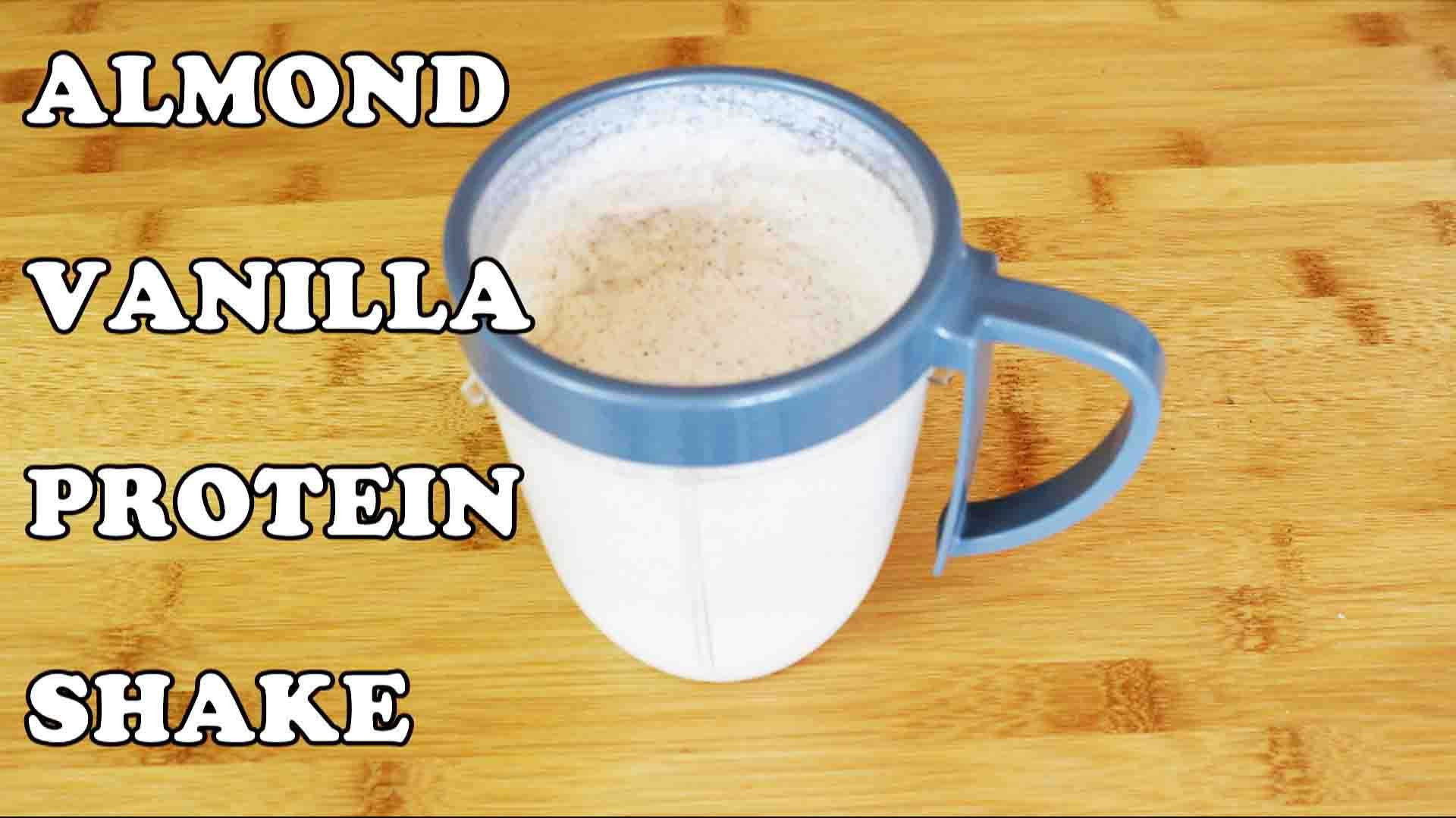 Keto Diet Protein Powder  low carb keto almond vanilla protein shake ketogenic t
