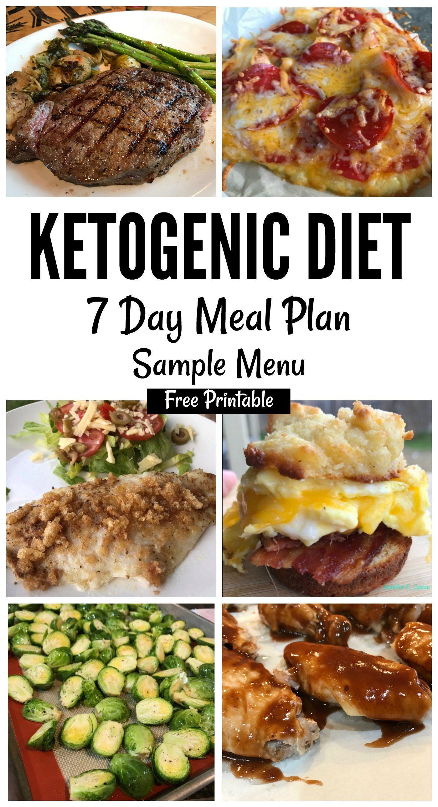 Keto Diet Recipes Free  Grab this printable 7 day Keto Sample Menu plan