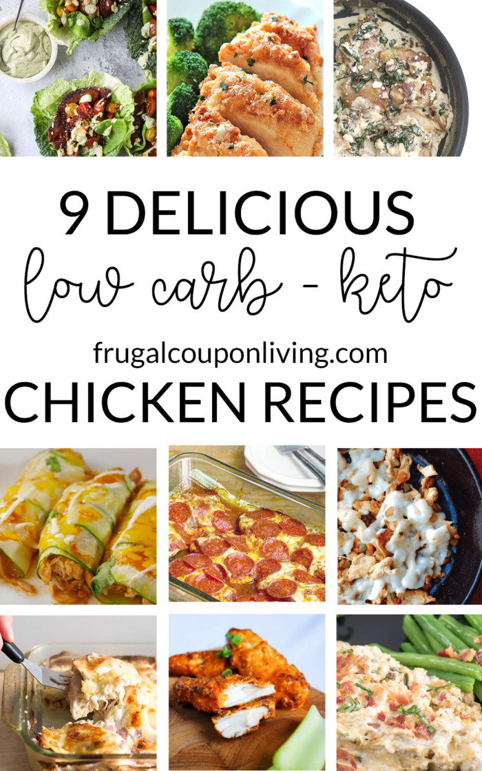 Keto Diet Recipes Free  9 Delicious Low Carb Keto Diet Chicken Recipes for Dinner