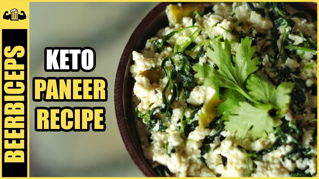 Keto Diet Recipes Indian  Keto Paneer Recipe Paneer Methi Malai