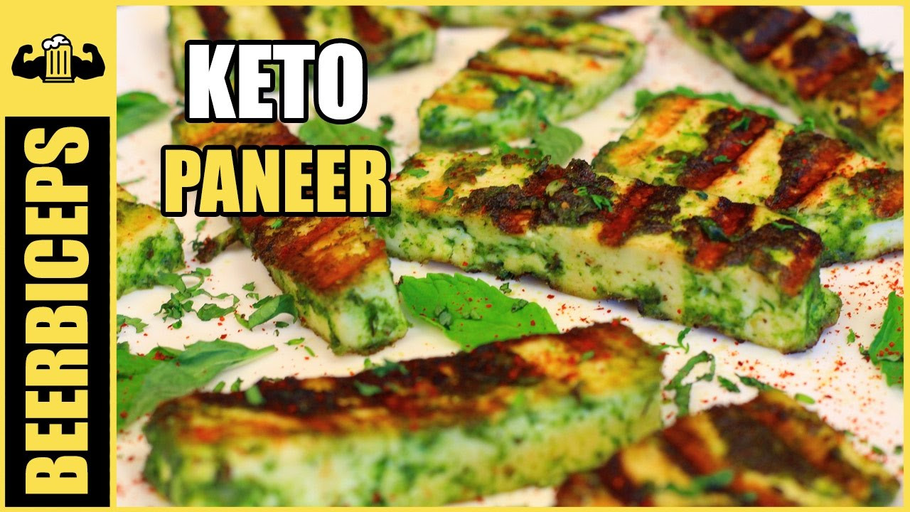 Keto Diet Recipes Indian  KETO Paneer Recipe Paneer Hariyali Tikka BeerBiceps