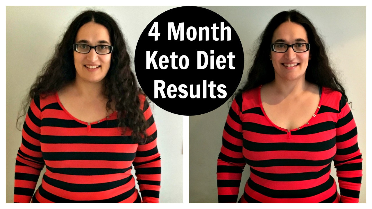 Keto Diet Results 4 Weeks  4 Month Keto Diet Results Before and After on