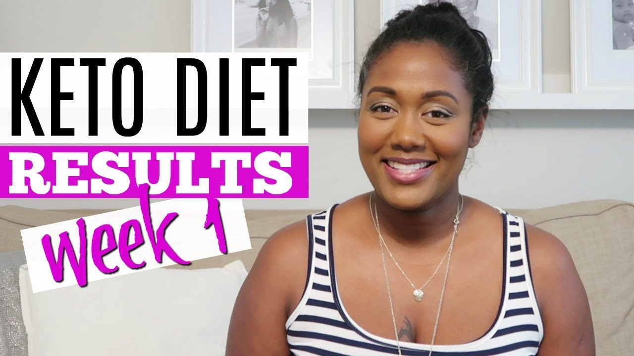 Keto Diet Results 4 Weeks  Keto Diet Week 1 Results How Much Did I Lose
