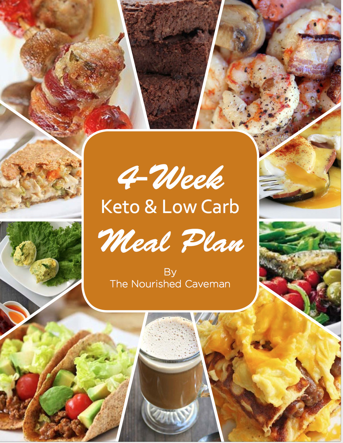 Keto Diet Snacks  4 Week Keto & Low Carb Meal Plan The Nourished Caveman