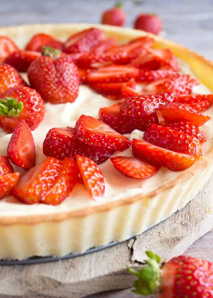 Keto Diet Strawberries  Strawberry Mascarpone Tart Low Carb Keto – Sugar Free