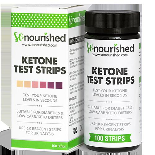 Keto Diet Strips  Urine Ketone Strips Low Carb Ketosis Testing Strips