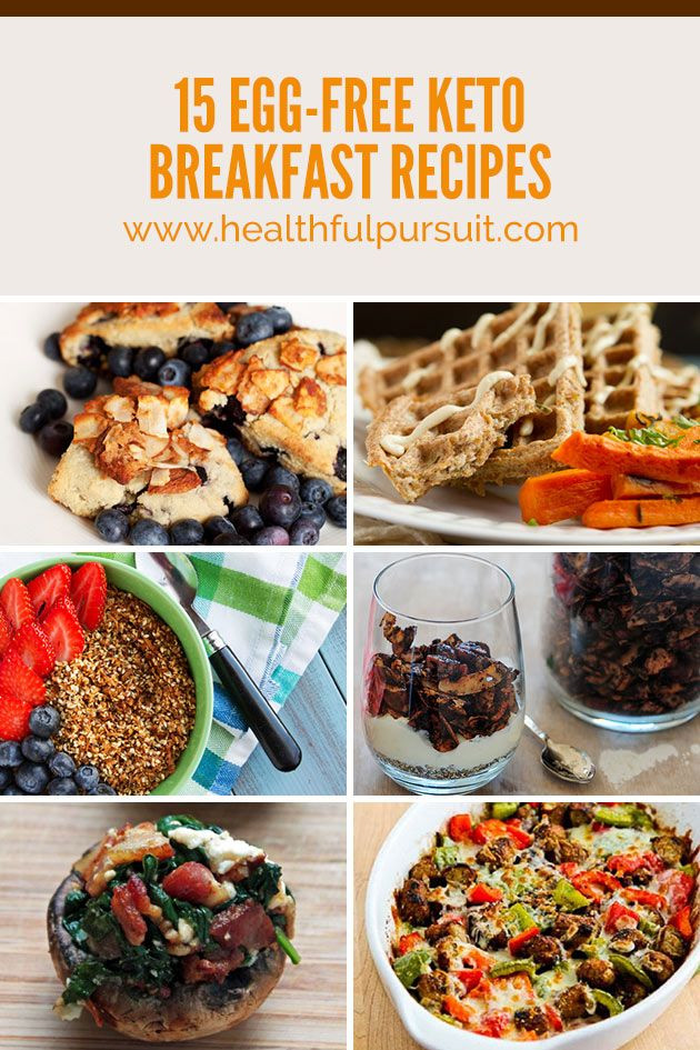 Keto Diet Without Dairy  18 best images about Egg free Keto Breakfasts on Pinterest