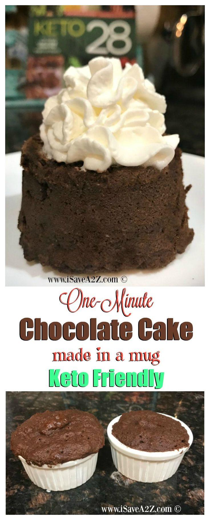 Keto Friendly Desserts To Buy  e Minute Keto Chocolate Mug Cake a keto friendly