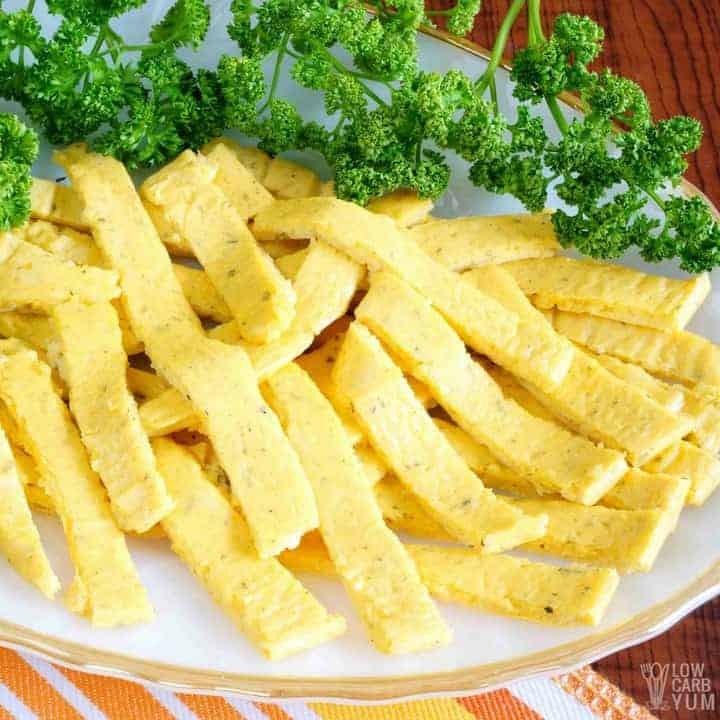 Keto Friendly Noodles  Keto Noodles Recipe for Low Carb Egg Noodles