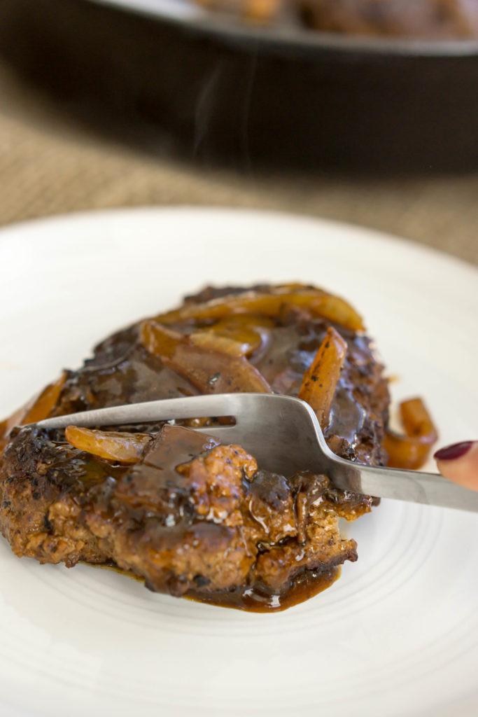 Keto Gravy Beef  Keto Salisbury Steak