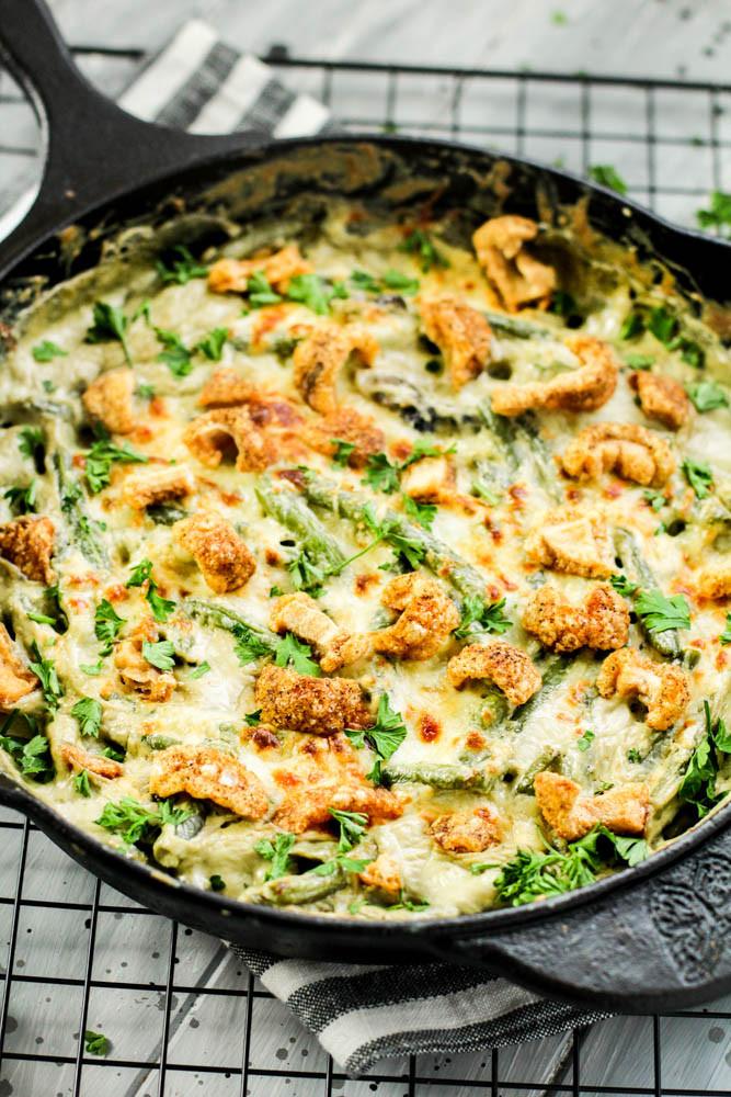 Keto Green Bean Casserole  Keto Green Bean Casserole Recipe iSaveA2Z