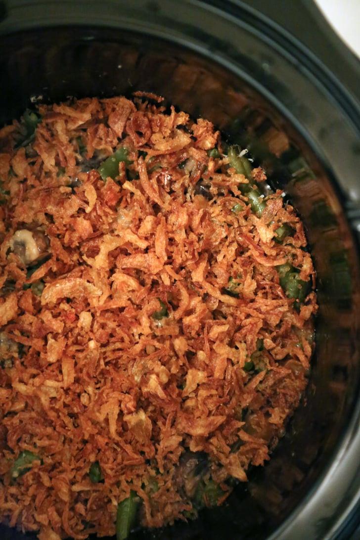 Keto Green Bean Casserole  Slow Cooker Green Bean Casserole