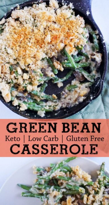 Keto Green Bean Casserole  Low Carb Green Bean Casserole KetoConnect