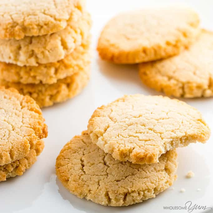 Keto Peanut Butter Cookies Cream Cheese  Stevia Low Carb Cookie Recipes