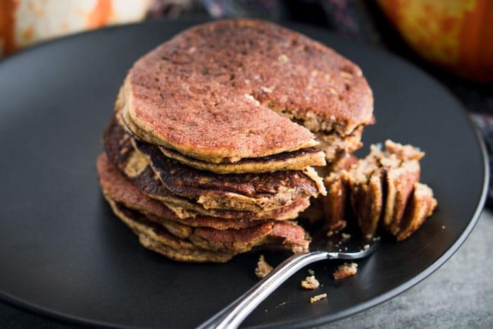Keto Pumpkin Pancakes  Low Carb Pumpkin Pancakes Recipe [Gluten Free] KETOGASM